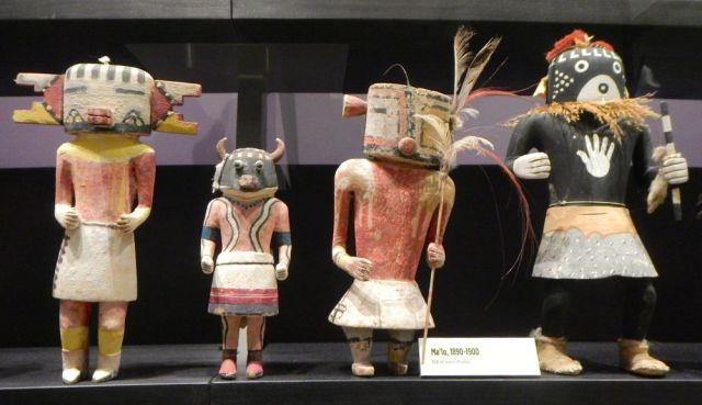 kachina dolls - by Caleb