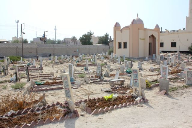 cemetery near mosque