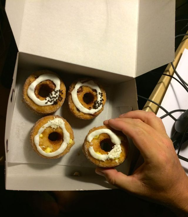 a box full of cronuts