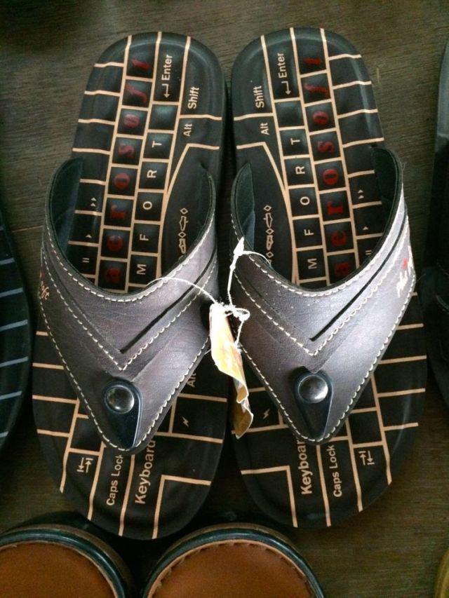 flip flops I didn't buy