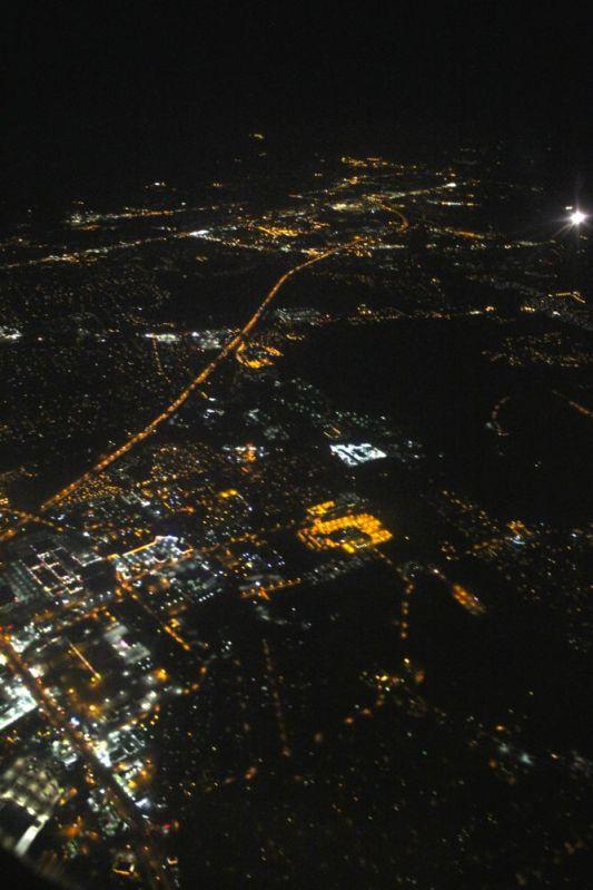 Norfolk at night