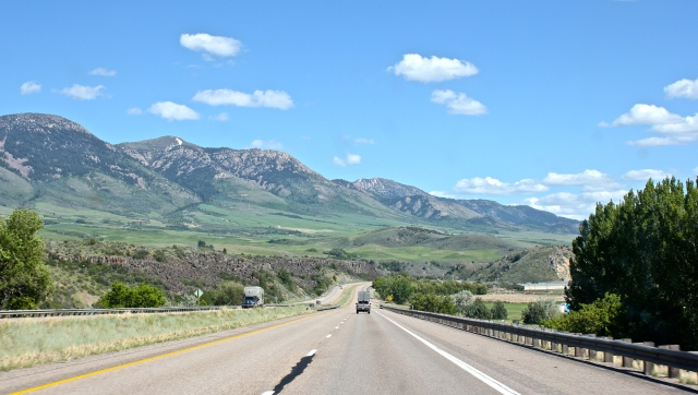 I-15 south near Pocatello, ID