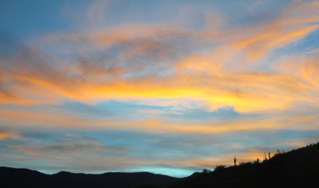 sunset 7:46