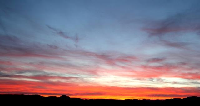 sunset 7:55