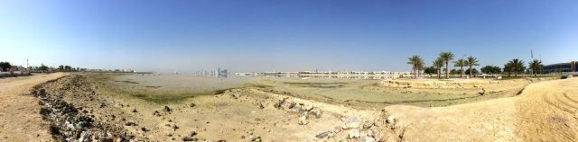 Muharraq across the water