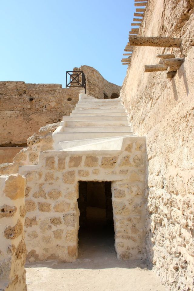 new stairs, old walls