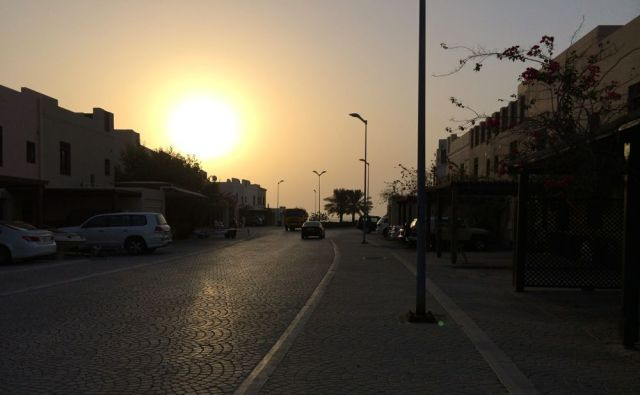 sunrise over Floating City