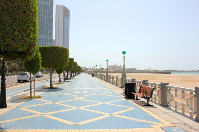 Nation Tower, ADNOC Bldg., Emirates Palace, Presidential Palace (under construction)