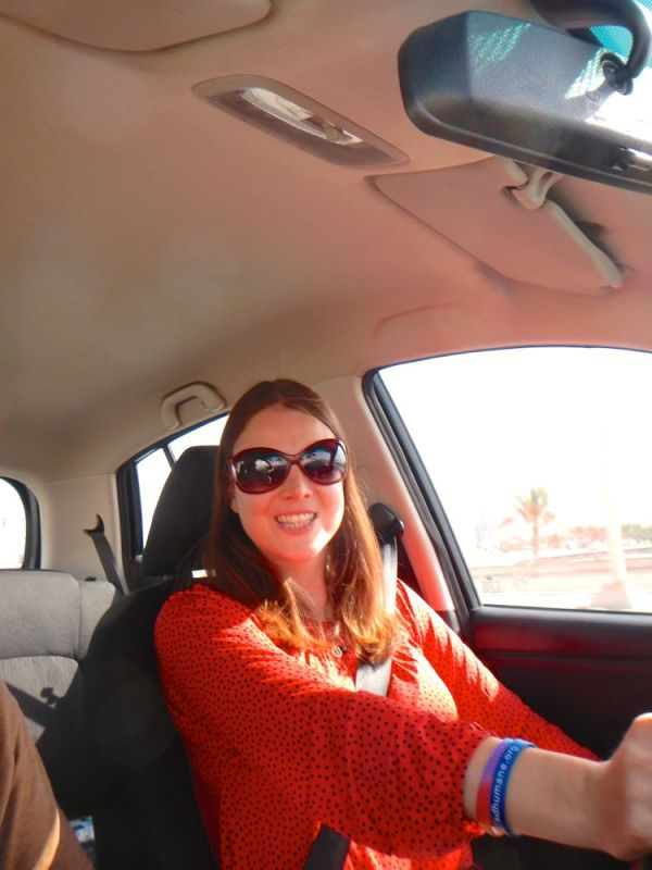 driving the Hyundai i10