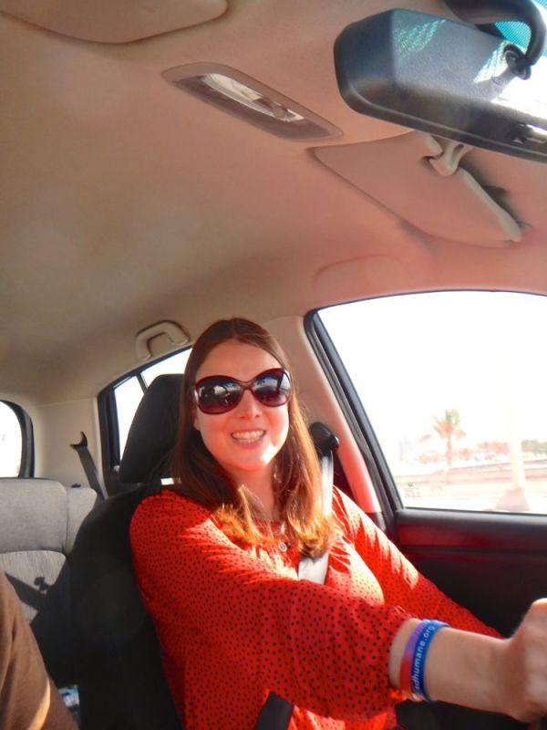 driving the Hyundai i10