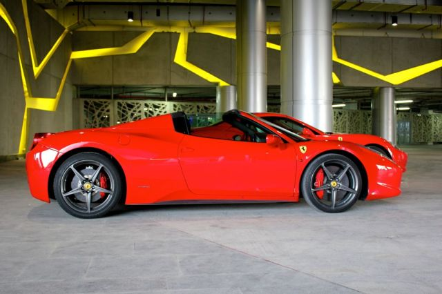 hot Ferrari from Dubai
