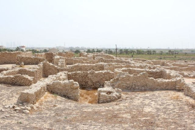 an archeological site