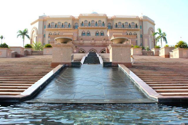 steps to Emirates Palace