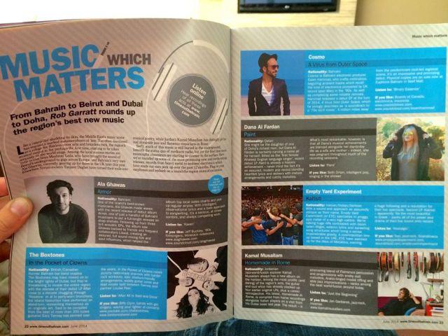 Time Out Bahrain magazine