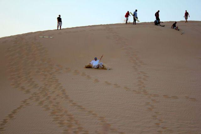 Everybody's gone surfin',  surfin' UAE.