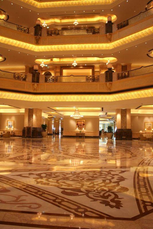 Emirates Palace lobby