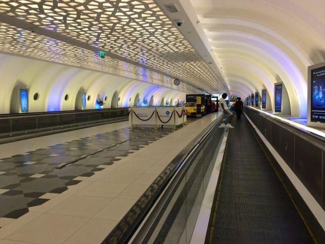 Lamborghini terminal, Abu Dhabi Airport