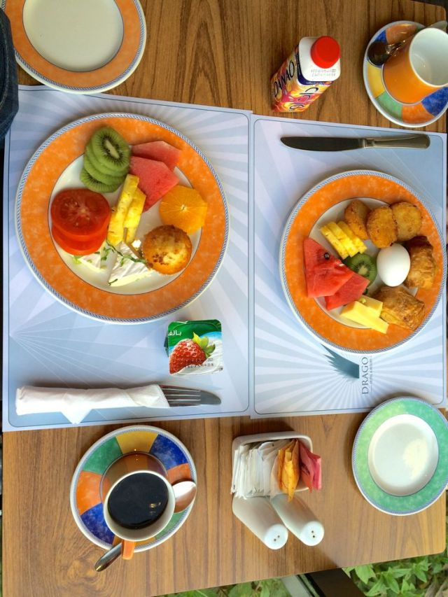 another tasty morning at Yamin Jana