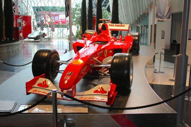 car on display
