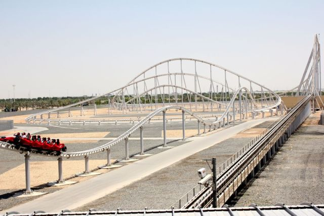 World's Fastest Roller Coaster - Formula Rossa