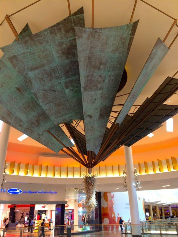 extravagant lighting in City Centre