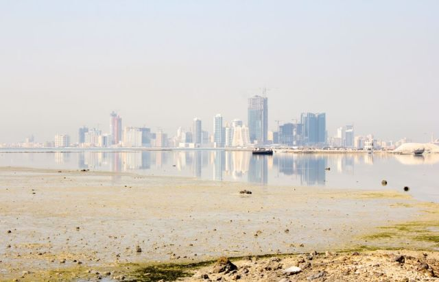 reflection of Muharraq