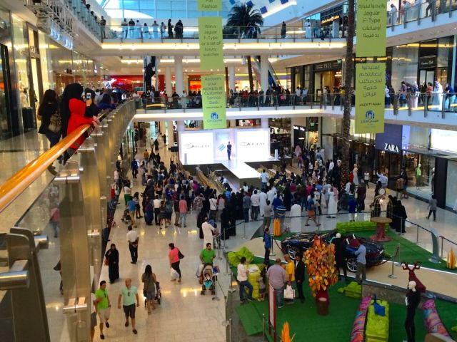 fashion show at City Centre Mall