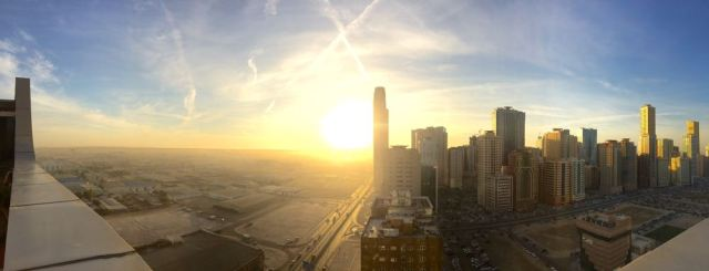 sunrise panorama from Royal Grand Suites