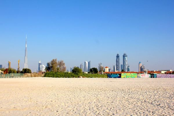 view from Jumeirah Beach