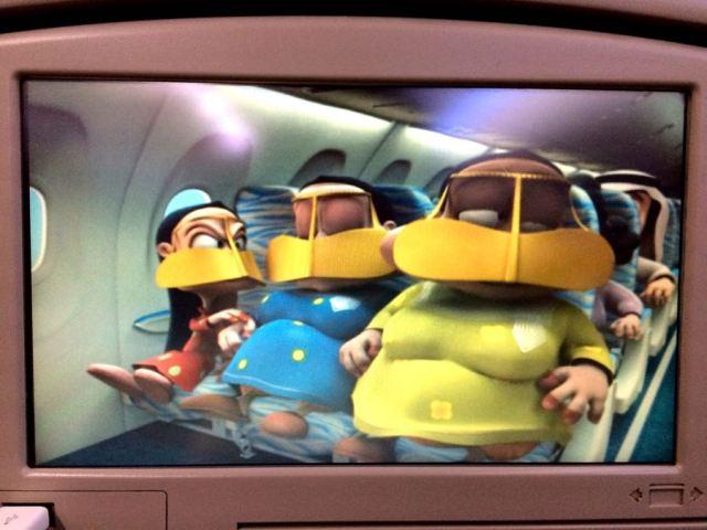 FlyDubai's safety video