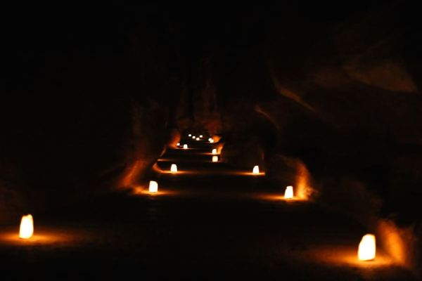 Petra by Night luminaries