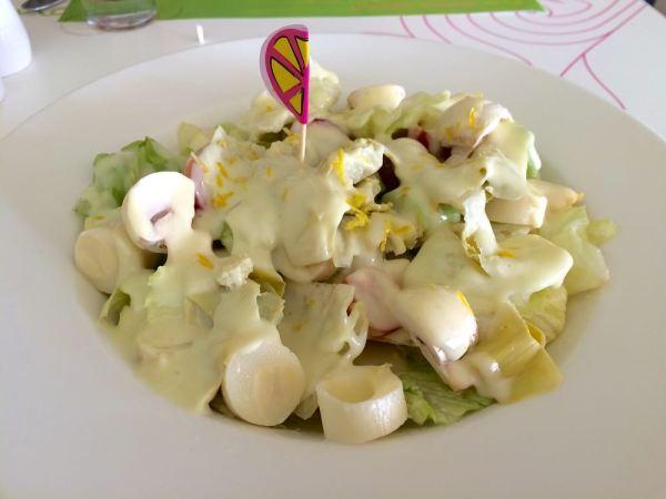 Zesty Lemon salad