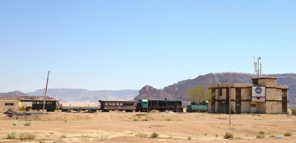 Journey Through 1916 at the Wadi Rum Station