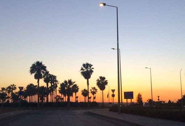 riding into the Jordanian sunset