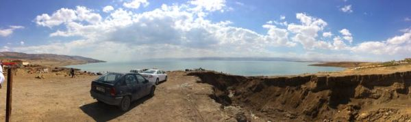 north end of Dead Sea
