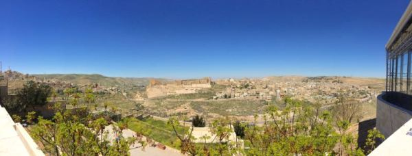 panoramic view of Karak Castle