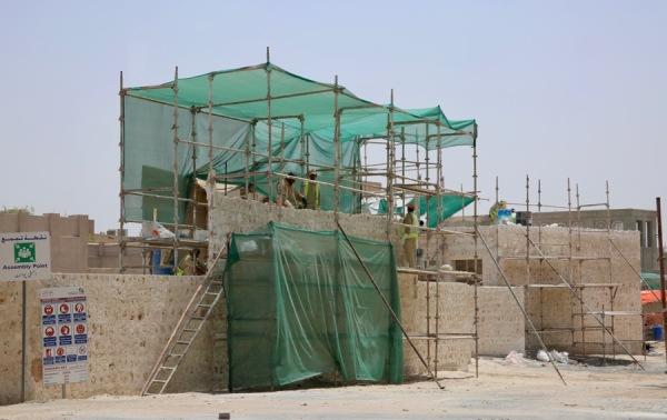 construction in Dubai