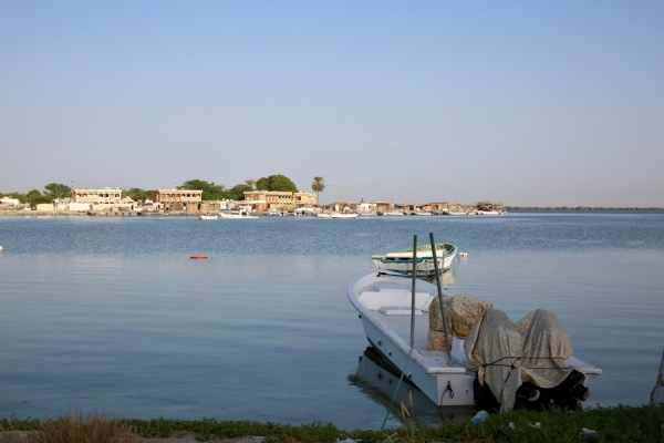 fishing boats of Umm Al Quwain