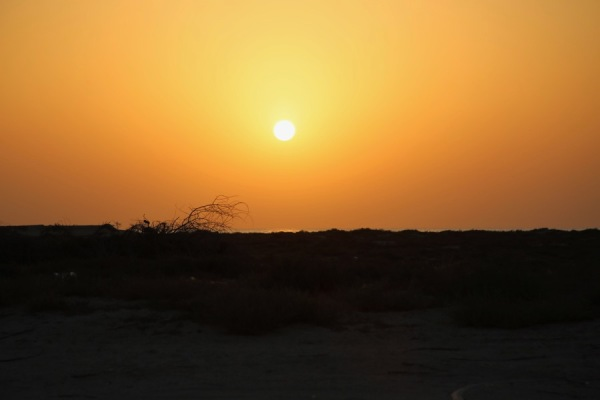 UAQ Beach sunset