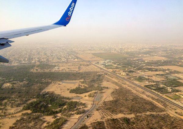 flydubai - over Dubai