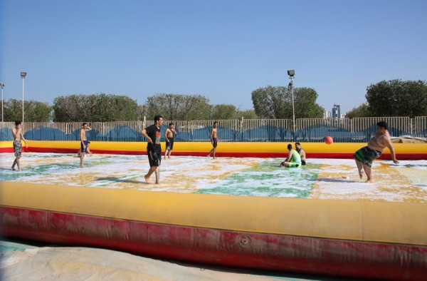 Inflatable Soap Water Soccer