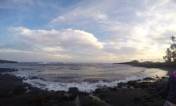 Punalu'u Black Sand Beach - GoPro