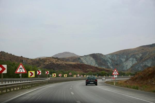E90, near Gülbağı, Balâ, Ankara Province