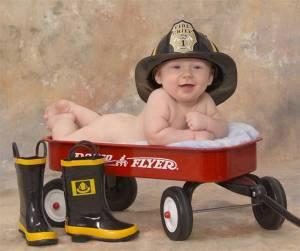 naked fireman